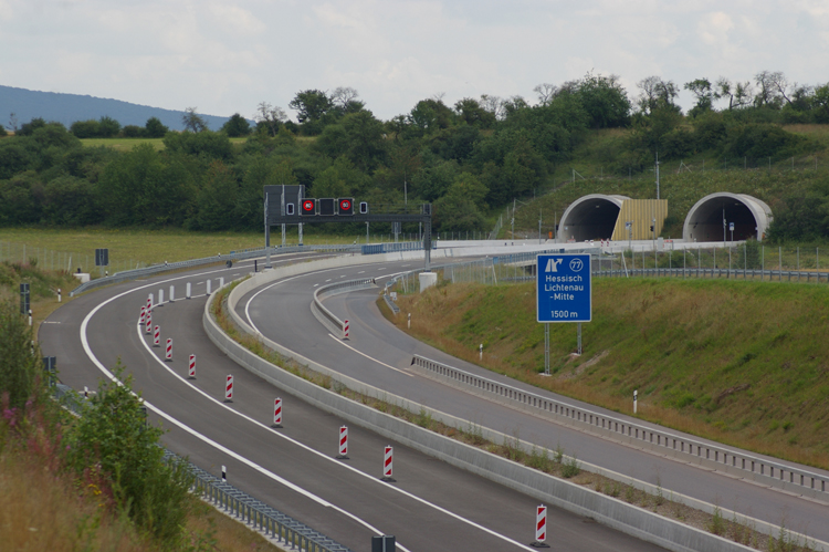 Autobahntunnel A 44 Schulbergtunnel 87