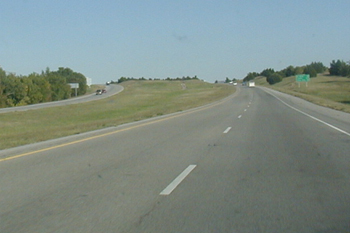 Interstate I-40 USA Autobahn Oklahoma 53b